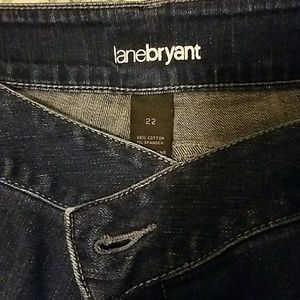 Lane Bryant size 22 denim capri
